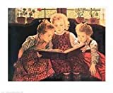 Art Poster Print - The Fairy Tale - Artist: Walter Firle- Poster Size: 23 X 28