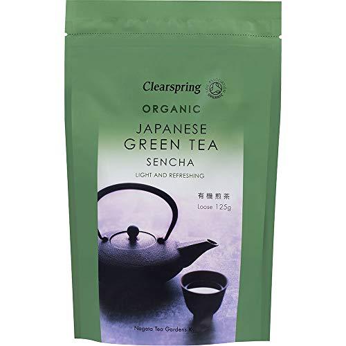 Clearspring Organic Japanese Green Tea, Sencha loose 125g