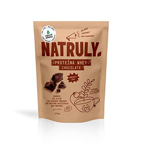 Proteína Whey Chocolate NATRULY 70% Proteína de Suero de L