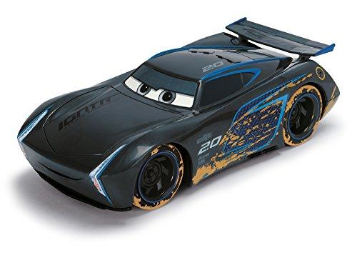 Dickie Toys 203084017 - Cars RC Beach Jackson Storm, ferngesteuertes Spielzeugauto, 1:24
