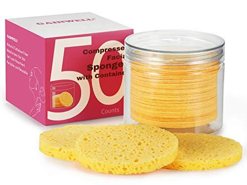 50 unidades Esponjas Faciales Comprimidas