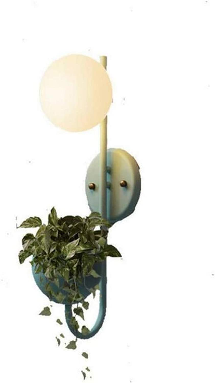 SGWH Wandleuchte Edison Retro Kronleuchter Tpfe Schmiedeeisen Macaron Runde Kugel leuchtet Gang Balkon Restaurant Bar Kunst dekorative Topf Kronleuchter Beleuchtung
