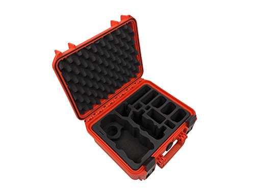 TomCase - Hobby Transportkoffer & -schachteln in Orange