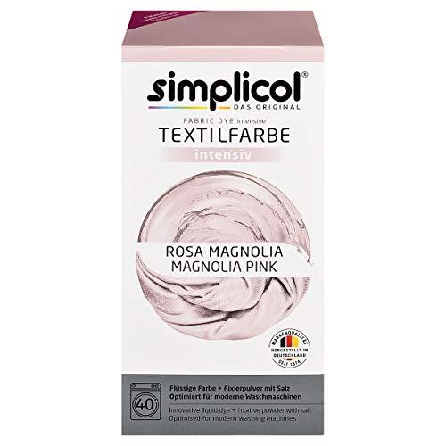 Simplicol Textilfarbe intensiv Rosa Magnolia