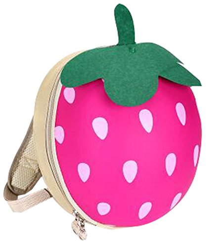 Why Should You Buy Cute Travel Backpack Children's Bag Strawberry Backpack, Fashion [C]