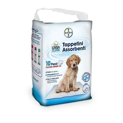 Bayer - Tappetini Assorbenti 60 x 60, 10 pezzi