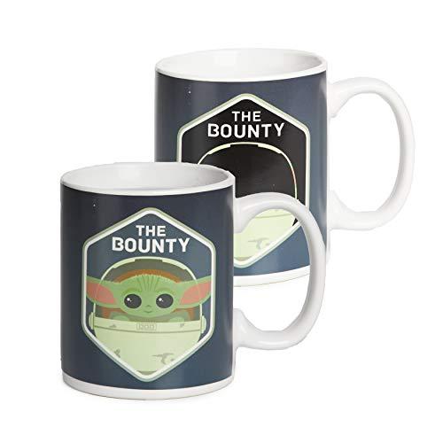 Paladone The Child Heat Change Kaffeebecher, Baby Yoda The Bounty, 300 ml, PP7337MAN