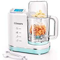 Gimars Upgrade 700W Auto Cleaning Fast Puree Steaming Baby Food Maker