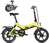 Bicicleta eléctrica Bicicleta eléctrica por la mon Bicicleta plegable eléctrica - portátil fácil de almacenar, Pantalla LED conmuta bicicleta eléctrica E-bici del motor de 250W, 7.8Ah batería, profesi