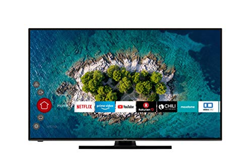 HITACHI U58K6100 Smart TV 58 Zoll (147 cm) I Fernseher (4K Ultra HD, HDR10, Dolby Vision HDR, Triple Tuner, Alexa, Bluetooth, HD+) I WLAN-Streaming Prime Video, Netflix, YouTube UVM