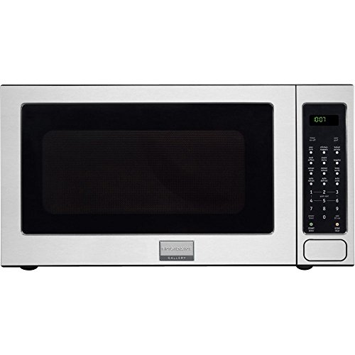 """FRIGIDAIRE FGMO205KF Gallery Series 24\"""" 2.0 cu. ft. Capacity Built-In Microwave Oven 1200 Watts 3 Auto Cook Options Sensor Cook 7 User Preference Options and One-Touch Options in Stainless"""