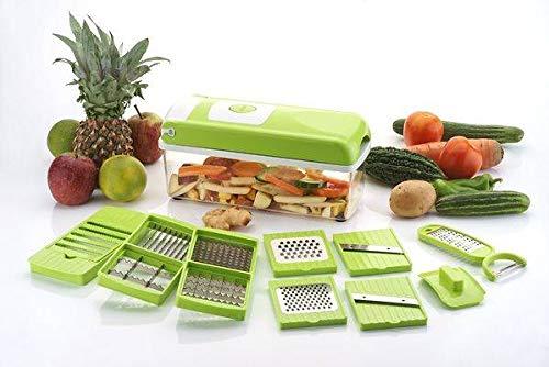 BUYERZONE WITH BZ LOGO Compact Vegetable & Fruit Chipser (2 Slide Blade Chipser)