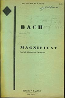 bach magnificat vocal parts