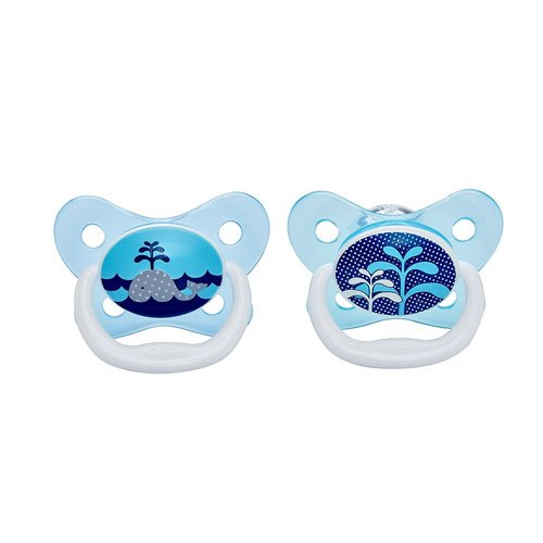 Dr Brown's Prevent Soother (0 to 6 Months, Blue, Pack of 2)