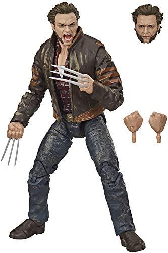 Hasbro Marvel Legends Series - Wolverine (Action Figure 15 cm da Collezione, Design Rilevanti e 3 Accessori, Serie X-Men)