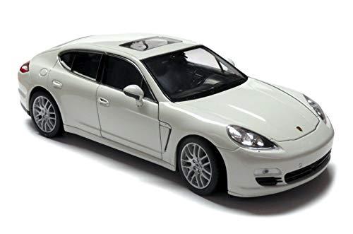 Welly Modell eines Porsche Panamera, weiß, 1:24