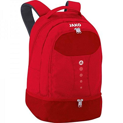 JAKO Rucksack Striker, Größe:0 (Bambini), Farbe:rot