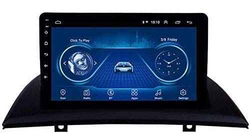 WEUN Autoradio Doppio DIN Android 8.1 per BMW X3 E83 dal 2004 al 2012 Navigazione GPS Autoradio Stereo Mirror Link Schermo Touch navigatore satellitare da 9'Dab + USB MP5 SWC AM FM