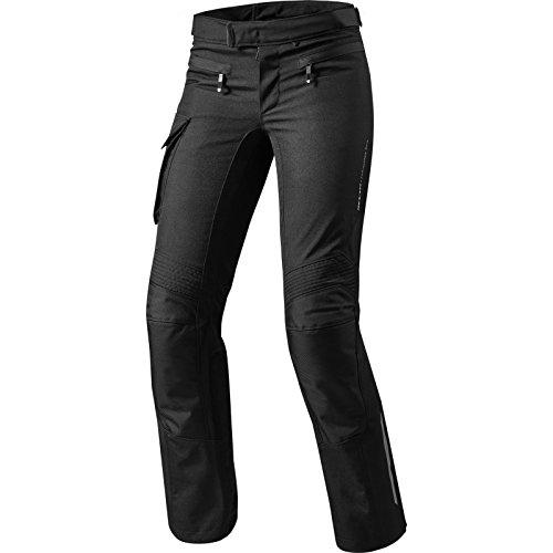 FPT075 - 0013-L40 - Rev It Enterprise 2 Ladies Motorcycle Trousers 40 Black Long