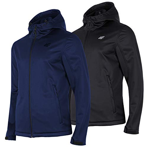 4F Softshelljack heren | waterdichte overgangsjas softshell jas SFM001 regenjas outdoor