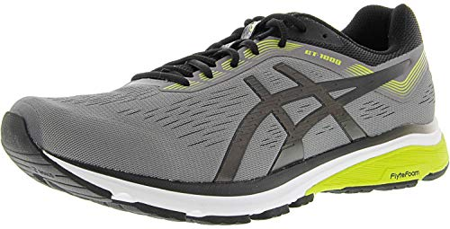 ASICS Men's GT-1000 7 Running Shoes, 11M, Carbon/Black