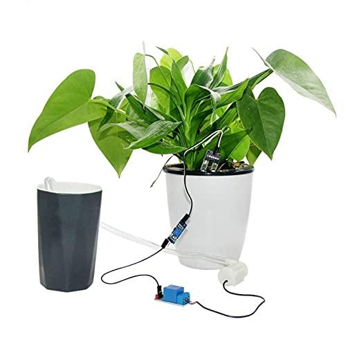 LIXIAONMKOP Pompe d'eau automatique Pompe d'eau automatique Module d'irrigation automatique DIY Set Sol Humidité Détection automatique Pompage d'arrosage automatique (Voltage : Vertical Type Kit)