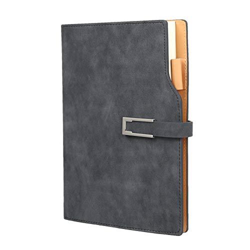 Kesote Notizbuch A5 Liniert Hardcover Leder Tagebuch mit Lesezeichen, 180 Seiten