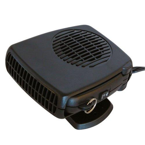 Carpoint 0510083 Ventilateur avec Chauffage/Dégivreur 150W