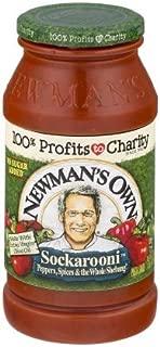 Newman's Pasta Sauce Sockarooni 24 FZ (Pack of 3)