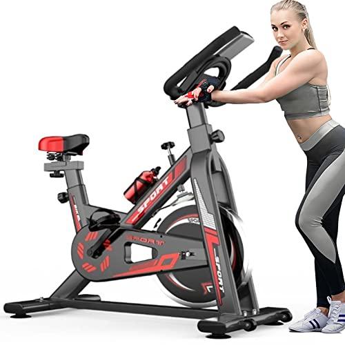 YTGH Máquina De Bicicleta De Ejercicio De Ciclo De Estudio Interior para Bicicleta Ajustable De Cardio Fitness En Casa En Bicicleta