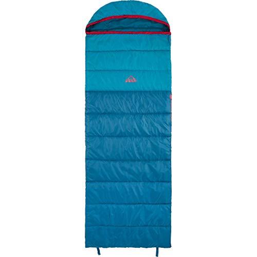 McKINLEY Unisex– Erwachsene Camp Comfort 5 I Schlafsack, BLUEPETROL/BLUEPETRO, 195R