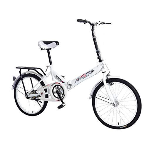 ReooLy Bicicleta de montaña Todoterreno 20 Pulgadas, Bicicleta Mini Plegable Ligera para Bicicleta y Estudiante para Mujer Adulta