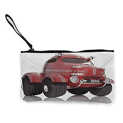 Canvas wallet,Multi-purpose Canvas Zipper Tool Bag,8.5 x 4.5 inches
