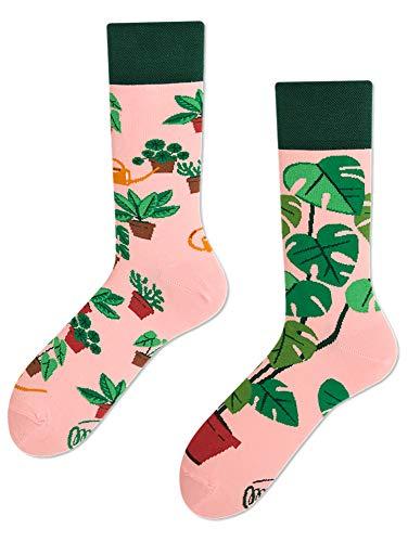Many Mornings unisex Socken Plant Lover (39-42)