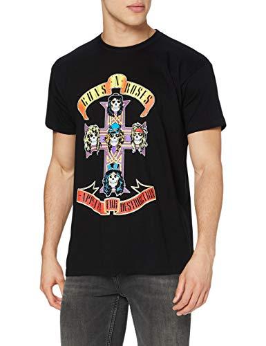 Bravado - Camiseta para hombre, color negro, talla L