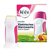 Veet Easy Wax Sensitive - Set roll-on elettrico con cera autoriscaldata, confezione da 1 (1 x 50 ml)
