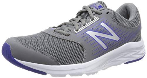New Balance M411v1, Zapatillas de Running para Hombre, Gris (Grey/Blue Grey/Blue), 40 EU