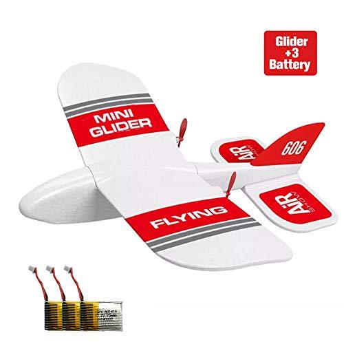 Rc Flugzeug Flugzeug Ferngesteuert Ferngesteuertes Flugzeuge,KF606 2,4 GHz 2CH EPP Mini Indoor-RC Segelflugzeug Flugzeug Eingebaut Gyro RTF