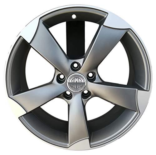 f931Map 1Llanta de aleación 8J 185X 112haobase 66,5para Audi A4Allroad A6Allroad A5A7sportback Q3Q5modelo Rotor Italia