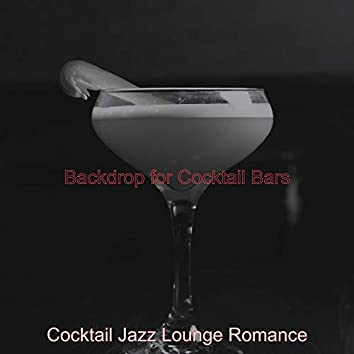 Backdrop for Cocktail Bars