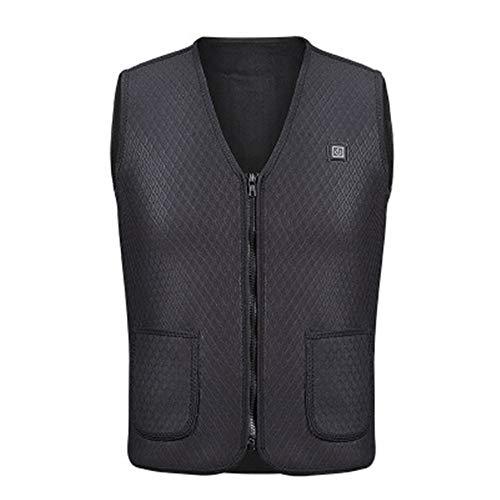 Elektrische USB-verwarmd warm vest mannen vrouwen verwarming jas jas kleding voor winter motorfiets reizen Xxl