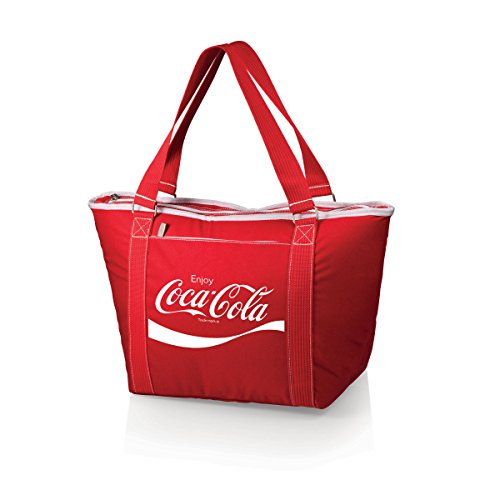 picnic time ice bags Picnic Time Coca-Cola Topanga Insulated Cooler Tote, Red