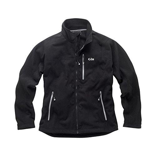 2017 Gill Windproof Fleece Jacket in BLACK 1462 Sizes- - Small