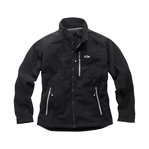 2017 Gill Windproof Fleece Jacket in BLACK 1462 Sizes- - Small