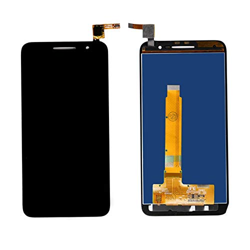 Un known Handy-Replaceable LCD-Touch Screen for Vodafone Smart-Prime 6 VF 895N VF895N LCD-Display mit Digitizer Montage Ersatz Maschinenteile (Color : Black, Size : 5.0