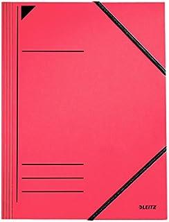 Leitz 59120025 Trieur Carton 12 onglets color/és Rouge Import Allemagne