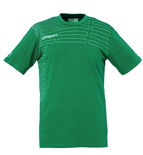 uhlsport Match Camiseta De Entrenamiento Hombre, Lagoon/Blanco, XXS