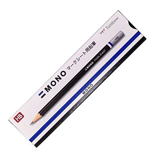 トンボ鉛筆 鉛筆 MONO モノマークシート用 HB 1ダース LM-KNHB