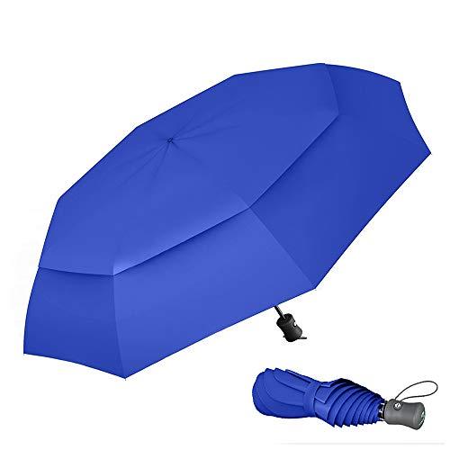 Paraguas Plegable Automático De Viaje...