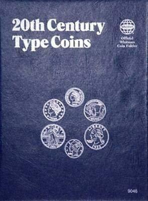 20th Century Type Coins 22 COINS WHITMAN No 9046:35 TRIFOLD COIN; ALBUM, BINDER, BOARD, BOOK, CARD, COLLECTION, FOLDER, HOLDER, PAGE, PORTFOLIO, PUBLICATION, SET, VOLUME